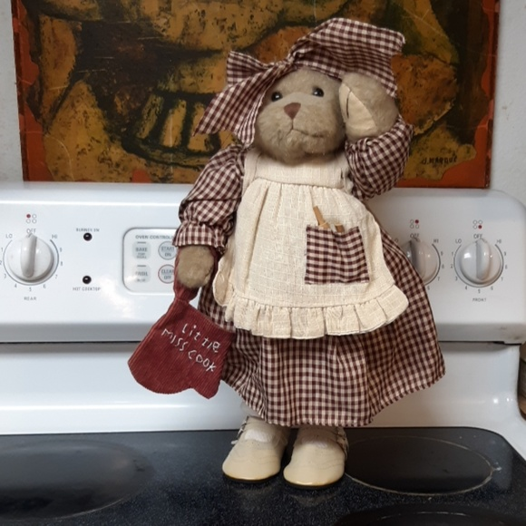 Kitchen Chef Baking Bear decor Free Standing